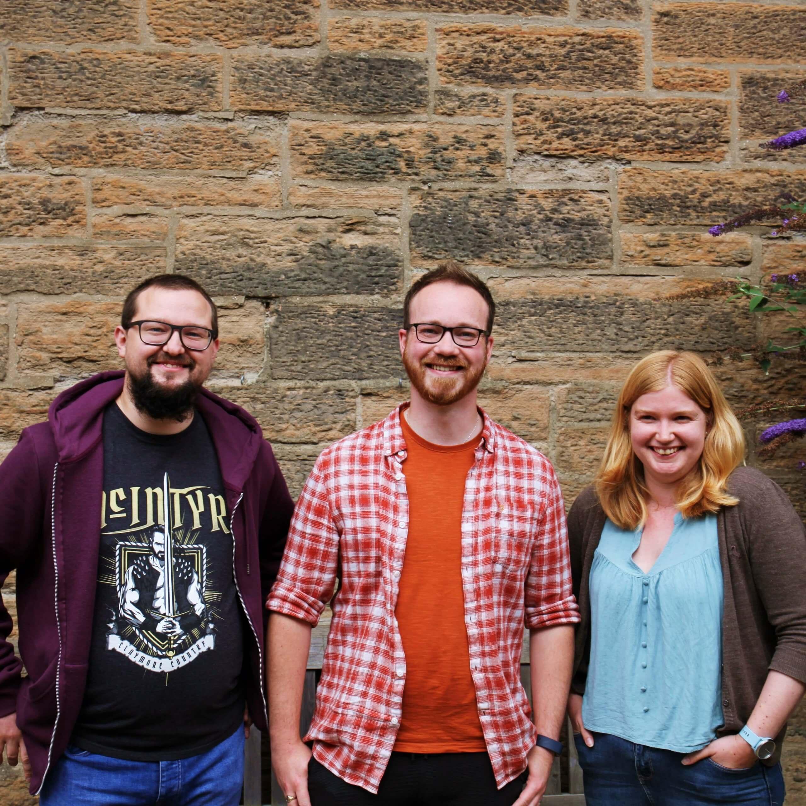 Callum, Gordon, Helen