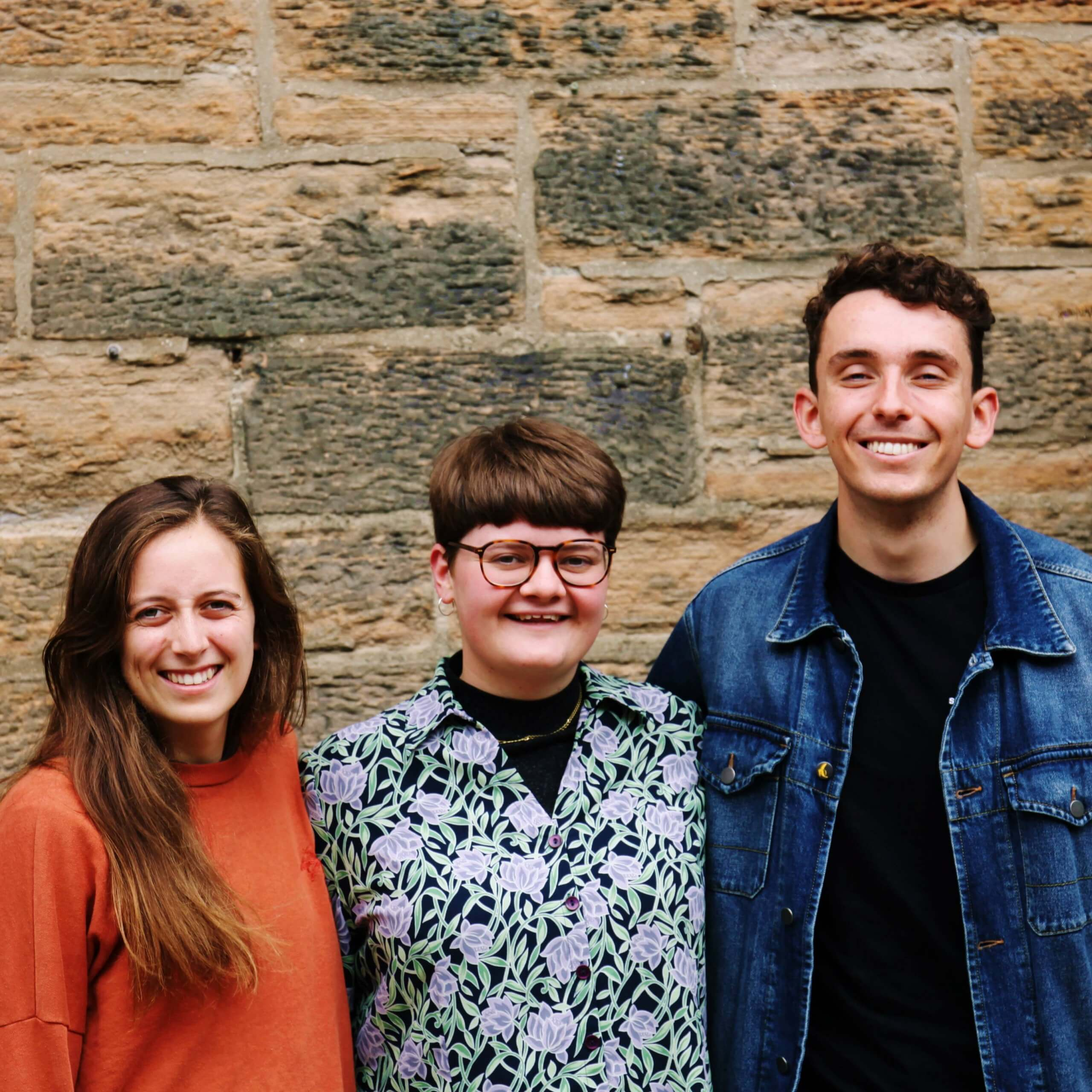 Joanna, Carrie, Nate