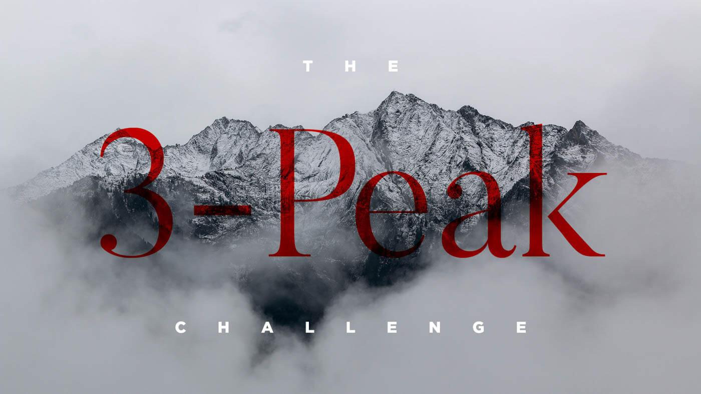 The 3-Peak Challenge