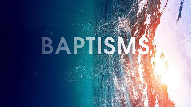 Baptism at King's