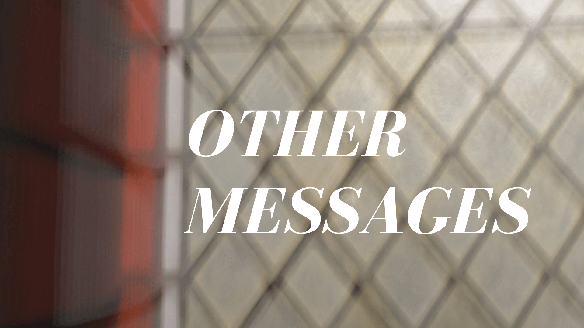 Other messages
